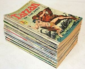 49 lot TARZAN OF THE APES Comics, 1st DC Issues #207-258 Run missing only 3