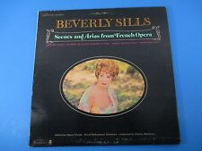 Beverly Sills Scenes & Arias from French Opera Album LP Vinyl Royal Or WST-17163