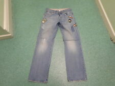 "Next Straight Jeans Waist 34"" Leg 35"" Faded Medium Blue Mens Jeans"