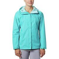 Columbia Women's Omni-Tech Arcadia II Rain Jacket, Blue, Size XL, $90, NwT