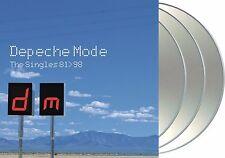 "Depeche Mode ""the singles 81-98"" 3CD-Set NEU best of / greatest Hits 38 Tracks"