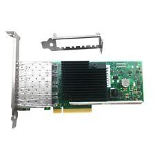 New Intel X710-DA4 4-port 10Gbps SFP+ PCIe 3.0 x8 10Gbps Ethernet network card