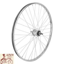 "WHEEL MASTER STURMEY ARCHER 3-SPEED 26"" x 1-3/8"" CHROME STEEL REAR WHEEL"