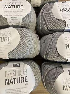 Fashion Nature Dk By Rico 014 7 X 50g Balls Plus Pattern Enough To Make Garment