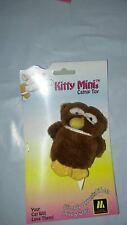 "MULTIPET KITTY MINI 4"" OWL CAT TOY CATNIP MINIATURE. FREE SHIPPING TO THE USA"