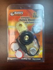 WIRTHCO BATTERY DOCTOR Cut Off DISCONNECT FUSED BYPASS 6-12 V SIDE MOUNT SWITCH