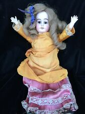 Antique 1894 Armand Marseille Doll AM 3 DEP Glass Eyes, Teeth, Composition, Wood