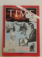 Vintage Time Magazine- September 25, 1964- The Nuclear Issue