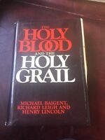 The Holy Blood And The Holy Grail Michael Baigent First Edition First Print 1982