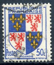 STAMP / TIMBRE FRANCE OBLITERE N° 951  BLASON PICARDIE