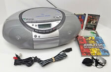 Sony Cfd-S350 Am-Fm-Cd-Cassette Player -Recorder Portable Boombox Super Clean!