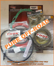 Tusk Clutch, Springs, Cover Gasket & Cable Kit for Yamaha WARRIOR 350 1987–2004