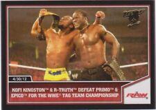 Carte collezionabili wrestling 2013 singoli
