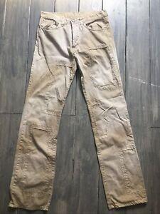 Iceberg Jeans Patchwork Boro Sunfaded Style Kapital Greg Lauren Visvim 29x33