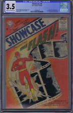 Showcase #4 DC Pub 1956 CGC 3.5 (VG -) Origin/1st app. S.A.Flash ,Classic Cover!
