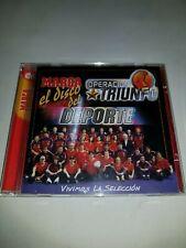 OPERACION TRIUNFO EL DISCO DEL DEPORTE CD  ESTADO NORMAL MIRE MAS ARTICULOS