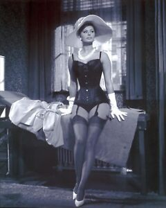 Sophia Loren Lingerie Model Poster Art Photo Pinup Artwork 11x14 16x20 20x24