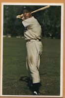 1982 TCMA Postcard -- Joe DiMaggio -- Yankees