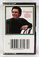 Johnny Mathis - Christmas with Johnny Mathis (1985 Columbia Cassette Tape) **RE