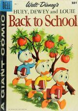 1958 Walt-Disney's Huey, Dewey, and Louie Back to School Comic Book A2