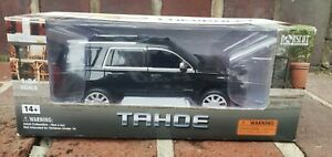 Norscot 1/24 scale 2014 Chevy Tahoe LTZ Black Model - NEW Norscot Scale Models