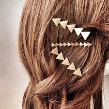 Celtic Geometry Triangle Hair Clip Comb Hairpin Barrette Bridal Party Hair Decro