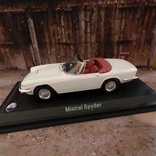 Maserati Mistral Spyder Année de construction 1964 1 Blanc 43 Leo Models
