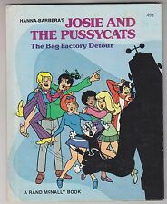 Hanna Barbera JOSIE AND THE PUSSYCATS The Bag Factory Detour 1976 Rand McNally
