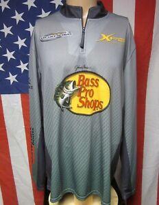 BASS PRO SHOPS Johnny Morris lrg racing jersey Archenemy carbon-lite Tracker