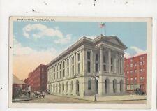 Post Office Portland Maine USA Vintage Postcard 953a