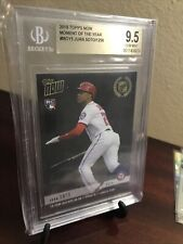 2018 Topps Now Moment Of The Year Juan Soto RC #MOY5! GRADED BGS 9.5 GEM MINT