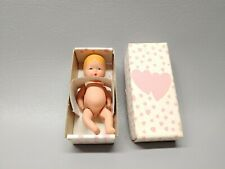 Vintage Kerr and Hinz bisque baby doll with original box