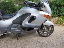 BMW K 1200 LT 2003 R. PANEL/FAIRING/PLASTICS SILVER  OEM USED PART46637664764