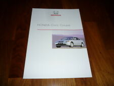 Honda Civic Coupe Prospekt 05/2001