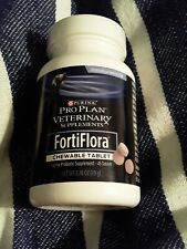 Purina Pro Plan Veterinary Diets FortiFlora Chewable Dog Supplement exp 06/21