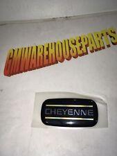 """1988-1996 SILVERADO """"CHEYENNE"""" EMBLEM NEW GM # 15036138"""