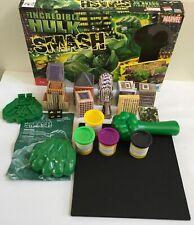 The Incredible Hulk SMASH Board Game Marvel 2008 Complete