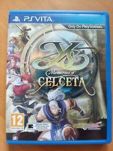 Ys Memories of Celceta - PS Vita