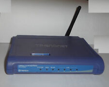 TRENDnet Model TEW-452BRP 108 Mbps 4-Port 10/100 Wireless G Router Home Network