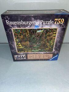 Ravenburger Escape Exit Puzzle - The Temple Grounds 759 Pieces New Sealed Box
