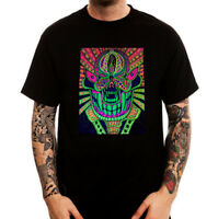 Hallucination Psychedelic Monster Dope Printed Cotton Men's T-Shirt Top Tee