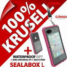 Krusell Sealabox L Custodia per iPhone 3GS 4 4S impermeabile cover cellulare