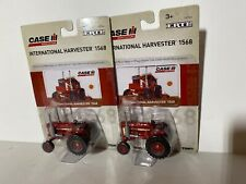 Lot Of 2 Case IH 1568 Tractor   V-8     ERTL 1:64   2016  New In Package  #14964