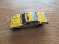 HOT WHEELS crack ups car yellow cab taxi_used diecast toy vehicle_xx79_Z3a34