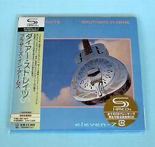 DIRE STRAITS brothers in arms Japon MINI LP CD SHM Brand New & STILL SEALED
