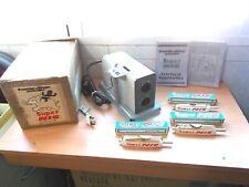 Proyector de Cine SUPER NIC Juguete Vintage 1960 Funcionando + 3 Peliculas.