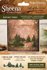 SALE New Sheena Douglass Metal Cutting Die Call Of The Wild Distant Trees