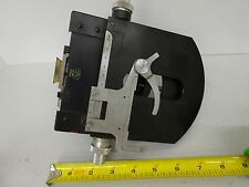 MICROSCOPE PART ZEISS GERMANY PHOTOMIC STAGE TABLE OPTICS AS IS BIN#C8-E-07