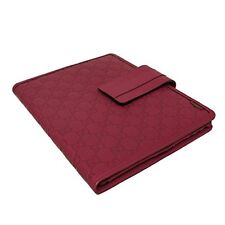 100% AUTHENTIC GUCCI GUCCISSIMA RED LEATHER TABLET IPAD COVER/CASE/SLEEVE