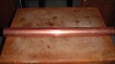 "2"" COPPER PIPE  type M  HARD copper moonshine pot still reflux column / 24"" long"